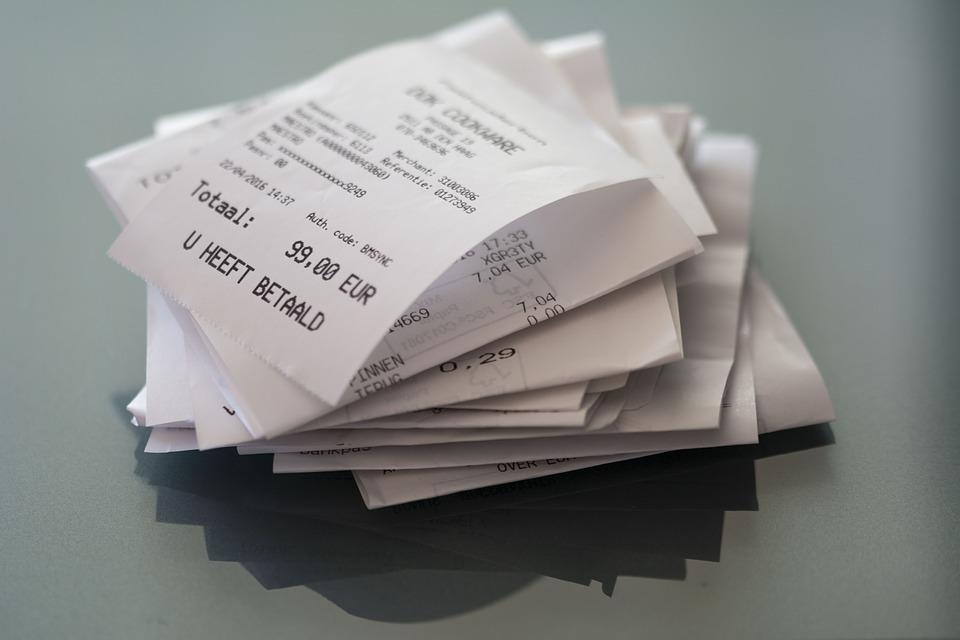 složené účtenky